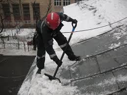 Схемы уборки снега с крыш