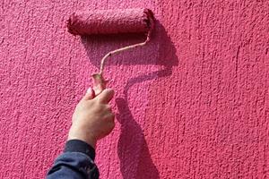окраска фактурной краской